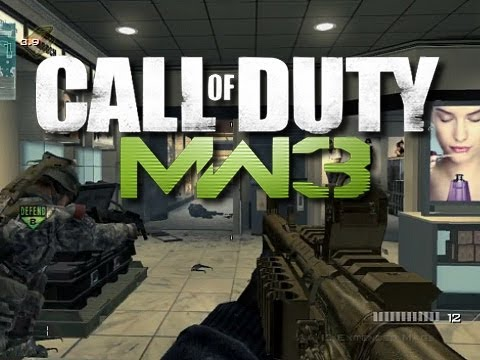 MW3 Funny Moments - Crawling Like a Snake and Rage Quits!