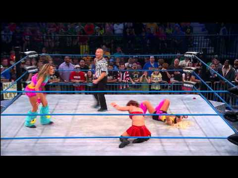 The Beautiful People vs. Madison Rayne and Brittany (April 3, 2014)