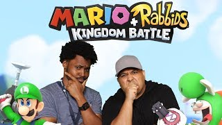 [HILARIOUS!] DASHIE + CORY TEAM UP ON [MARIO + RABBIDS: KINGDOM BATTLE]