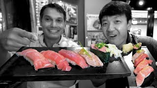 Tokyo's Maguro Sushi Set, the A5 Wagyu Steak of the Sea ★ ONLY in JAPAN