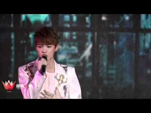 [FANCAM] 120401 EXO Showcase Solo - Baby Don't Cry + What is Love + Two Moons Music Videos