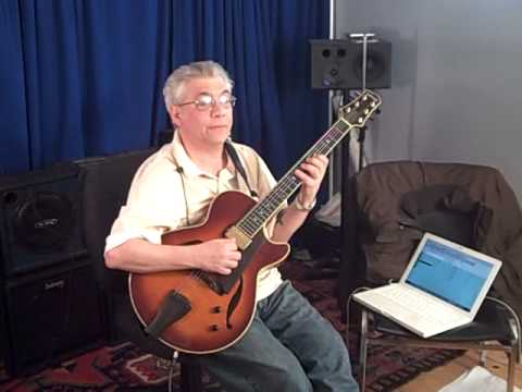 Behind the Scenes-Jimmy Bruno Guitar Institute with Jazz Improv Magazine-Part 2