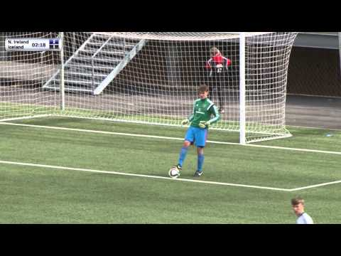 FSF Varpið: UEFA U16 Northern Ireland - Iceland. Development Tournament