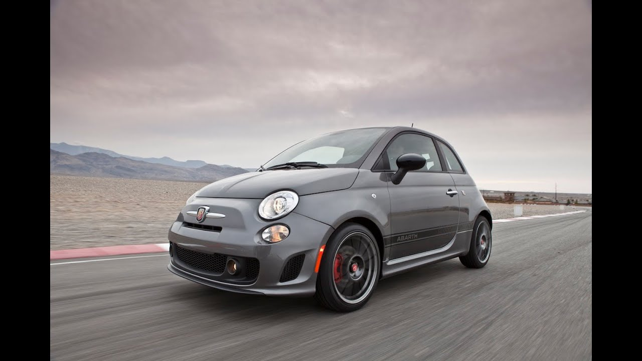 The 2012 Fiat 500 Abarth Rips Up The Race Track Youtube