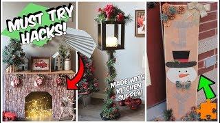 4 Dollar Tree Christmas Hacks You NEED to Try