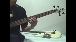 松田聖子 -Pearl-White Eve- Bass cover