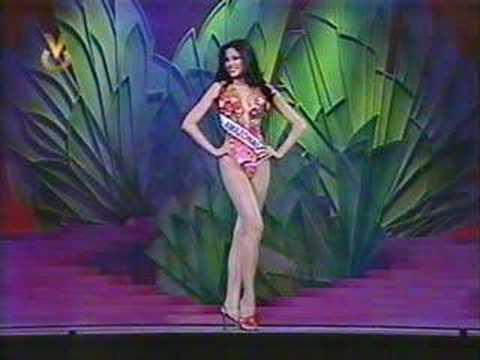 Aida Yespica Miss Amazonas 2002