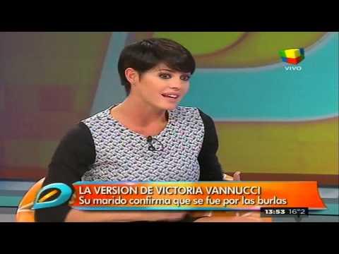 El verdadero motivo del enojo de Victoria Vannucci