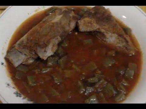 Receta Carne de Puerco con Nopales
