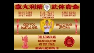 Nomination Chin Woo Martial Arts Hall of Fame 2013