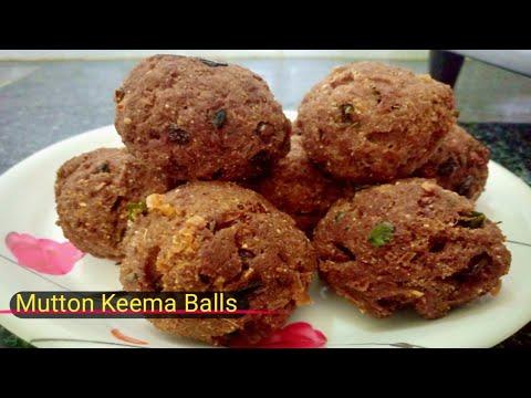 How to make mutton Keema balls  /మటన్ కీమా బాల్స్ /