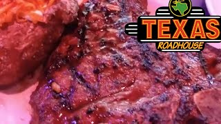 Eating At The BEST STEAK Restaurant In My State TEXAS ROADHOUSE