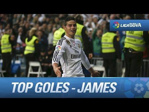 Los 10 mejores goles de James Rodríguez en la Liga 2014 - 2015