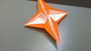 Daily Origami: 039 - Four-pointed Star
