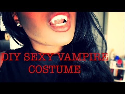 EASY & SEXY DIY VAMPIRE COSTUME || HALLOWEEN