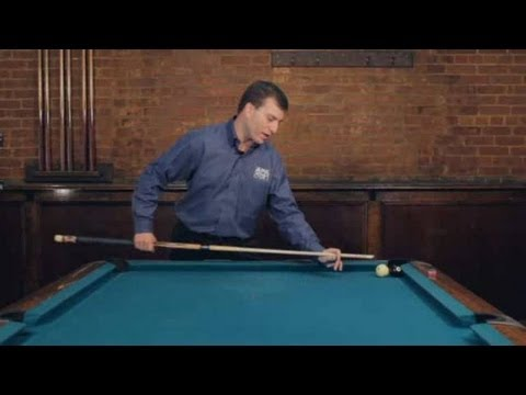 Pool Trick Shots / Beginner Shots: Spin Push