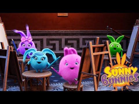 Cartoons for Children | SUNNY BUNNIES - ART CLASS | Funny Cartoons For Children