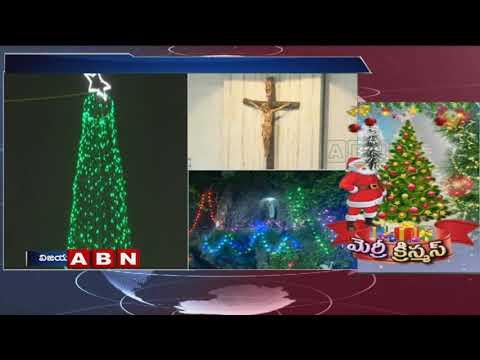 Christmas Celebrations begin all over India | ABN Telugu