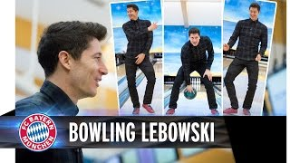 Bowling with Lewandowski - The Big Lebowski