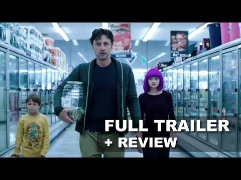 Wish I Was Here Official Trailer + Trailer Review - Zach Braff : HD PLUS