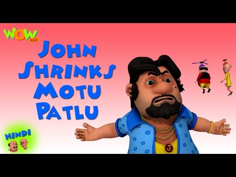 John Shrinks Motu Patlu - Motu Patlu in Hindi - 3D Animation Cartoon for Kids -As on Nickelodeon thumbnail