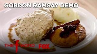 Gordon Ramsay's Pan Seared Pork Chop: Extended Version | Season 1 Ep. 2 | THE F WORD