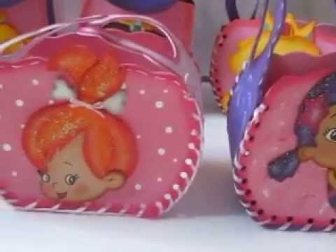 Cotillones para fiestas infantiles - Elaborado por Cocotikos - YouTube