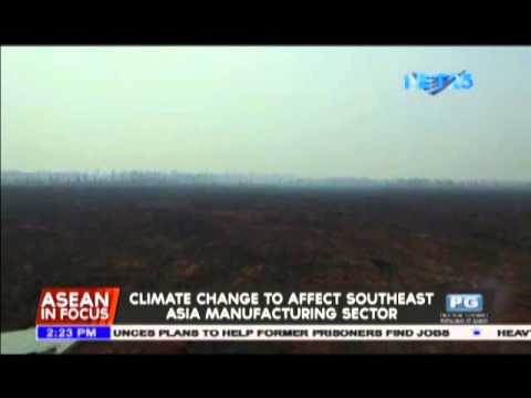 Climate change to affect Southeast Asia manufacturing sector