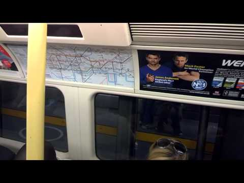 Green Park Station to Canary Wharf Station - Jubilee Line - Google Glass