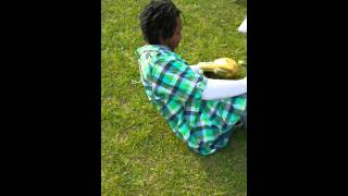 One hitter quitter knockout in the hood \