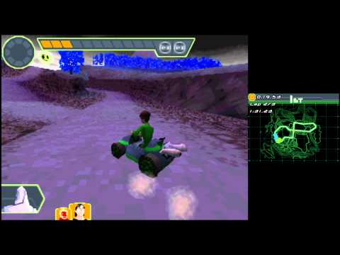 Ben 10 Glactic Racing Gameplay (2011 DS NDS) 1080p HD HQ