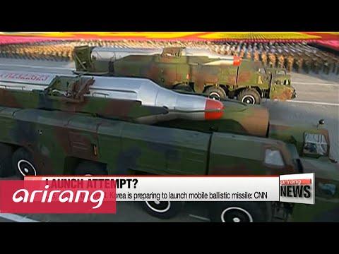 N. Korea may be preparing for unprecedented mobile ballistic missile launch: CNN