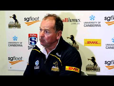 Brumbies coach White previews the Reds clash