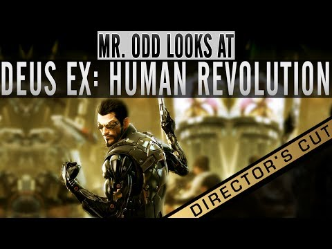 Mr. Odd Looks at Deus Ex Human Revolution DIRECTORS CUT [Wii U and Gamepad][Preview Review Gameplay]