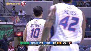 Baser Amer explodes 2 3-points in less than 1 minute.