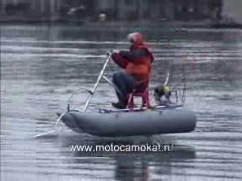 экраноплан из лодки пвх