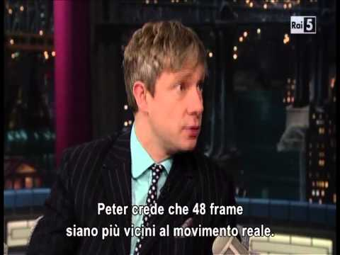 Late Show with Martin Freeman Sub Ita