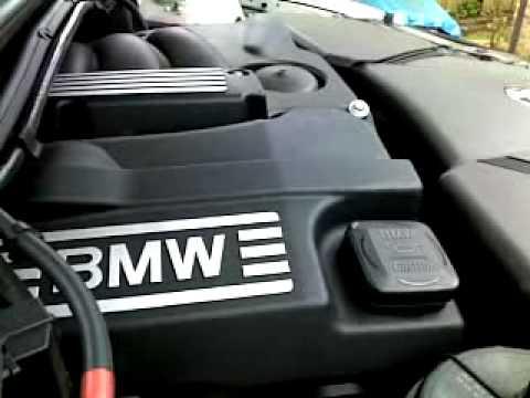 BMW e46 318i 2002 n42 engine startup noise