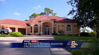 Tip about Florida school shooter came in from Massachusetts
