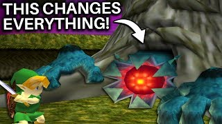 What if Bongo Bongo Hid Inside the Deku Tree in Ocarina of Time? (Zelda)