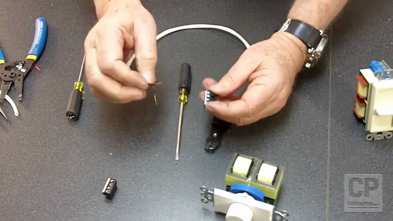 how to attach speaker wire to a volume control