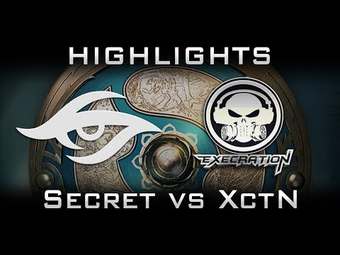 Secret vs Execration TI7 Elimination Highlights The International 2017 Dota 2