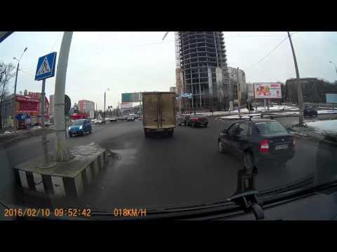 Авария 10.02.16 Харьков