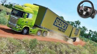 A VIAGEM MAIS PERIGOSA no BRASIL!!! - Euro Truck Simulator 2 + G27