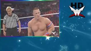 John Cena vs AJ Styles - WWE SummerSlam 2016 (Full Match)