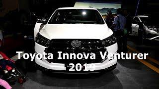 New Toyota Innova Venturer 2019 ,White colour,Exterior and Interior