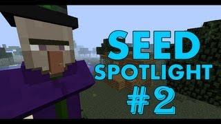 Minecraft 1.4.5 Seed Spotlight: DUNGEON INSIDE PYRAMID AT SPAWN! #2