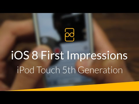 Apple iOS 8 Final on iPod Touch 5th Generation - Should You Upgrade? (First Impressions)