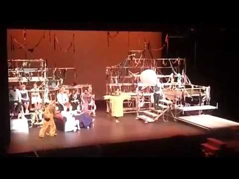 Pyramus and Thisbe (Part 1) - A Midsummer Night's Dream AGS/EGGS Production 2012
