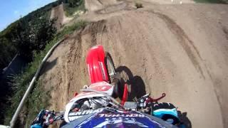 crf150r riding at motoland 2013
